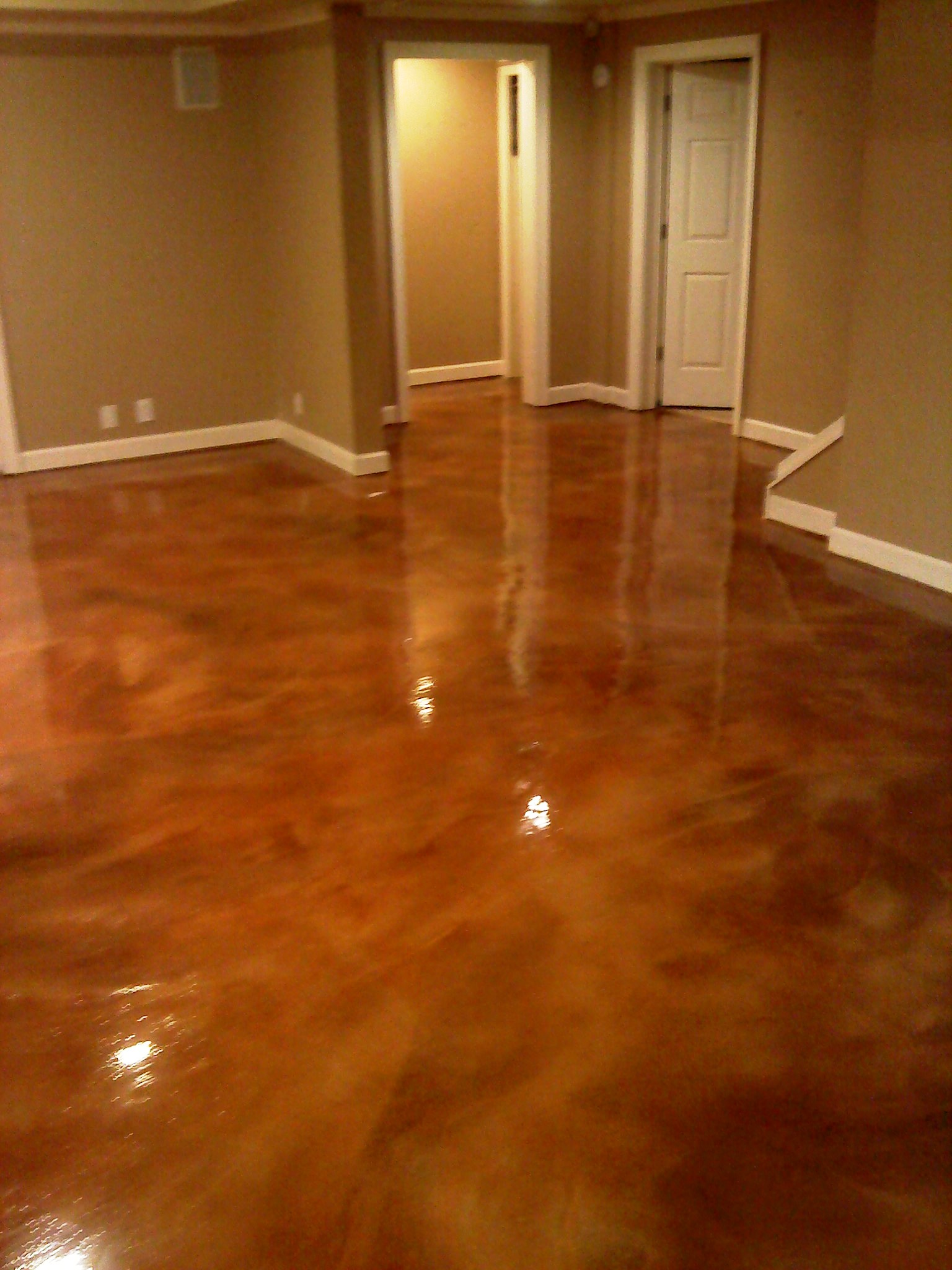 Concrete Wood Floors Flooring